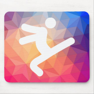 Dancer Sways Icon Mouse Pad