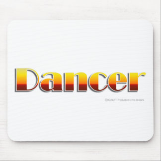 Dancer Text Only Mouse Pad