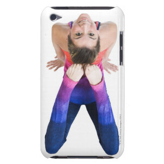 Dancer touching feet to head iPod Case-Mate cases
