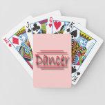 Dancer underlined  red deck of cards