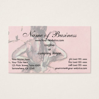 Dancer Viewed from the Back by Edgar Degas Business Card