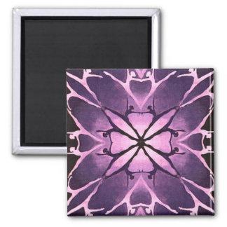 Dancer (Violet) 2 Inch Square Magnet