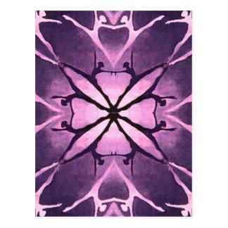 Dancer (Violet) Postcard