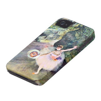 Dancer with a Bouquet of Flowers by Edgar Degas iPhone 4 Cover