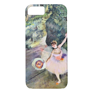 Dancer with a Bouquet of Flowers by Edgar Degas iPhone 8/7 Case