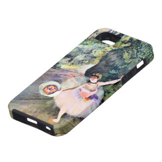Dancer with a Bouquet of Flowers by Edgar Degas iPhone SE/5/5s Case