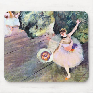 Dancer with a Bouquet of Flowers by Edgar Degas Mouse Pads