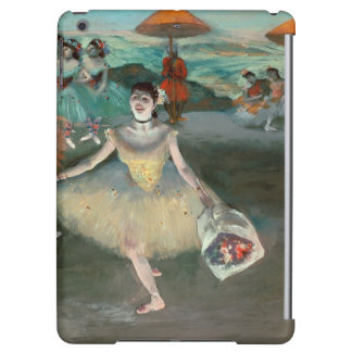 Dancer with bouquet, curtseying, 1877 iPad air covers