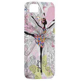 Dancer With Butterflies iPhone 5 Cases
