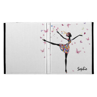 Dancer With Butterflies | Personalized Gift iPad Case