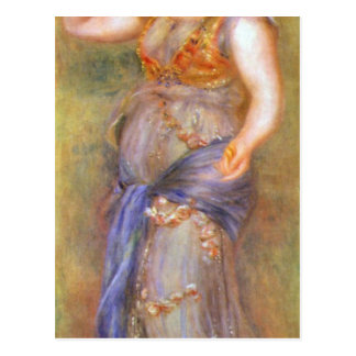 Dancer with castanets by Pierre Renoir Postcard