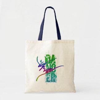 DANCER with DANCER ARTWORK Tote Bag
