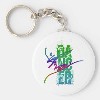 DANCER with DANCER ARTWORK Keychain