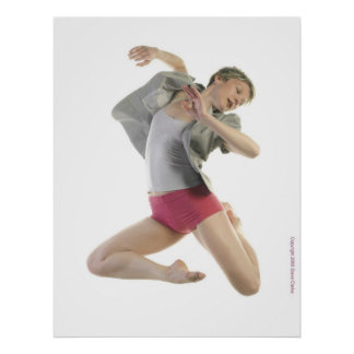 Dancer with Gray Jacket Poster
