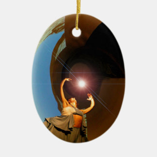 Dancer with the Star Ceramic Ornament