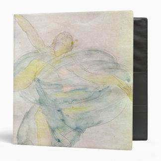 Dancer with Veils Vinyl Binders