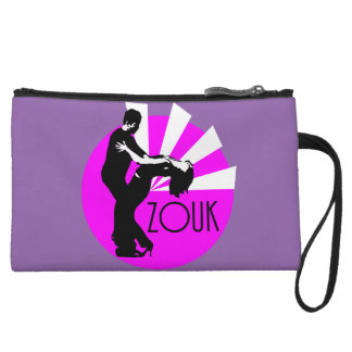 Dancer with Zouk signature Wristlet Wallet