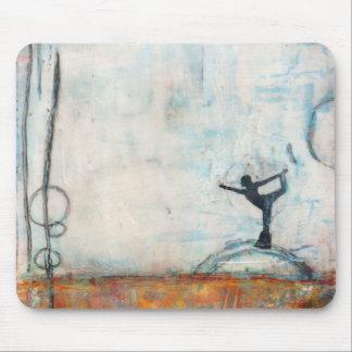 Dancer Yoga Girl - Mousepad