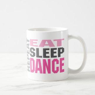 dancerepeat, dancerepeat classic white coffee mug