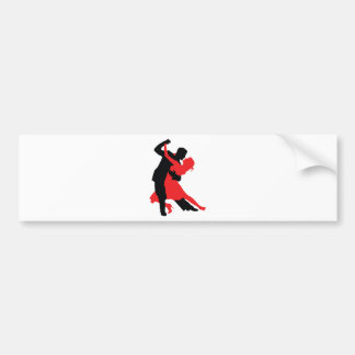 Dancers 1 car bumper sticker
