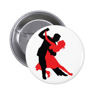Dancers 1 pinback button