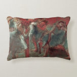 Dancers at Rehearsal, 1895-98 Decorative Pillow