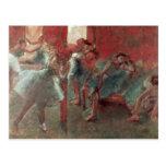 Dancers at Rehearsal, 1895-98 Postcard