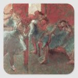 Dancers at Rehearsal, 1895-98 Square Sticker
