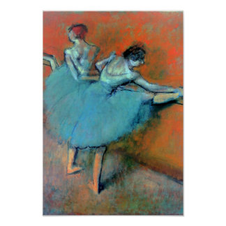 Dancers at the Bar by Degas Poster
