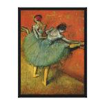 Dancers at the Bar by Edgar Degas Canvas Art
