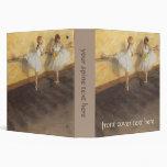 Dancers at the Bar by Edgar Degas, Vintage Ballet Binder