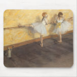 Dancers at the Bar by Edgar Degas, Vintage Ballet Mouse Pad
