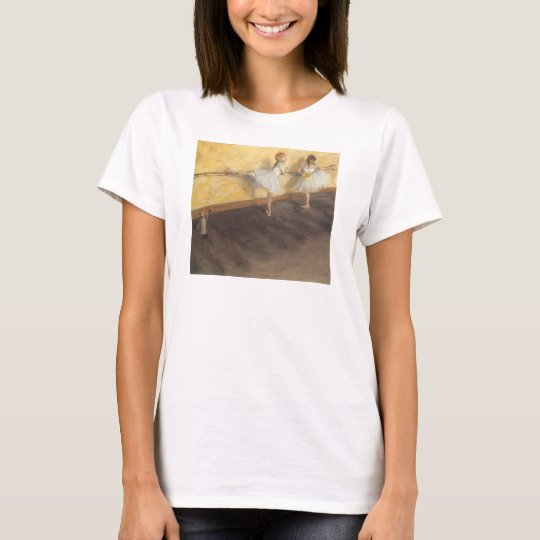 Dancers at the Bar by Edgar Degas, Vintage Ballet T-Shirt