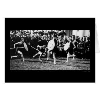 Dancers at the Carnegie Institute Photo Card