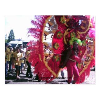 Dancers at Trinidad Carnival Postcard