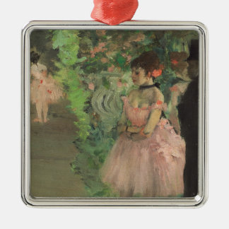 Dancers Backstage, 1876-1883 (oil on canvas) Metal Ornament