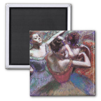 Dancers by Degas Magnet