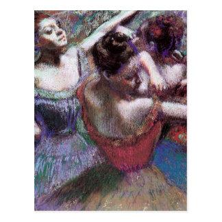 Dancers by Degas Postcard