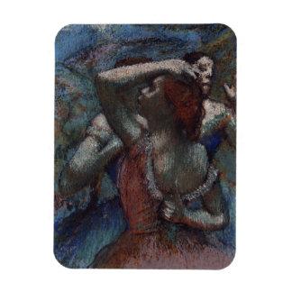 Dancers by Edgar Degas Magnet