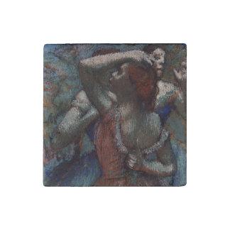 Dancers by Edgar Degas Stone Magnet