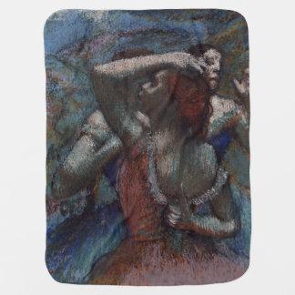 Dancers by Edgar Degas Receiving Blankets