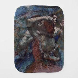 Dancers by Edgar Degas Baby Burp Cloth