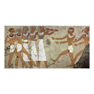 Dancers By Maler Der Grabkammer Des Antefoker (Bes Photo Card Template