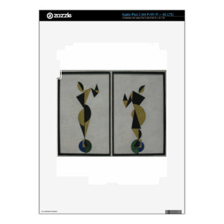 Dancers by Theo van Doesburg Decal For iPad 3