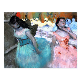 Dancers - Edgar Degas Postcard