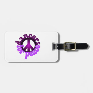 Dancers for Peace Luggage Tag