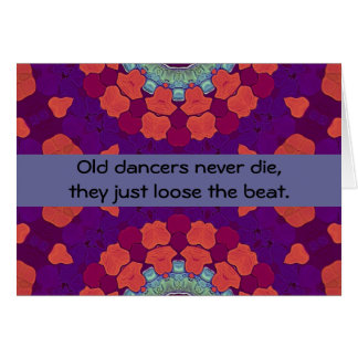 dancers humor card