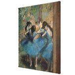 Dancers in blue, 1890 canvas print