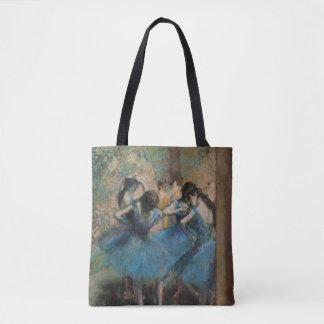 Dancers in blue, 1890 tote bag