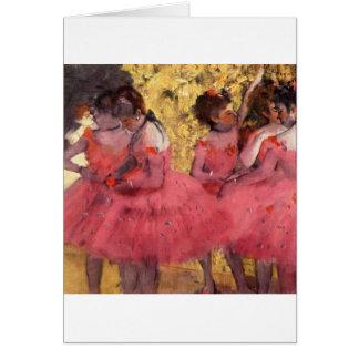 Dancers in Pink Card